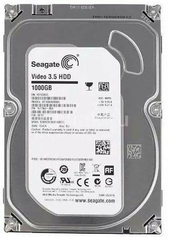 HD Seagate VÍDEO 3.5 1TB Novo Lacrado