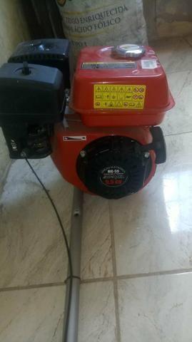 Vendo motor d popa com rapeta em camaçari, potencia 5,5 cv - Foto 8