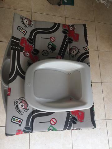 Banheira bebê plástica luxo * - Foto 2