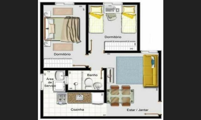 Lindo apartamento de 2/4 Vila Olimpia - Foto 8