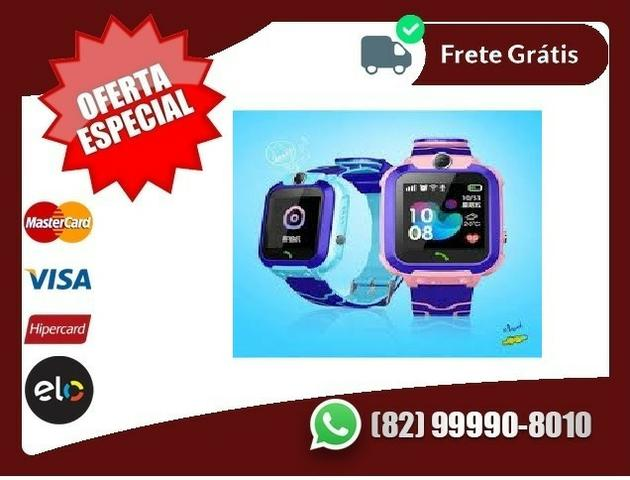Os.Melhores.Preços-Q12 Crianças Relógio Inteligente Ip67 À Prova Dágua