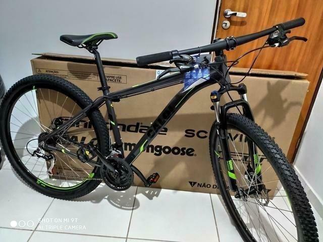 Bicicleta Caloi 29 Suspensão c/Trava Freio a Disco (Lacrada) Nota Fiscal - Foto 4