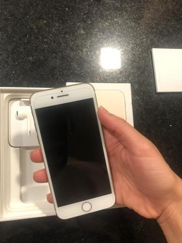 IPhone 7 128g dourado - Foto 4
