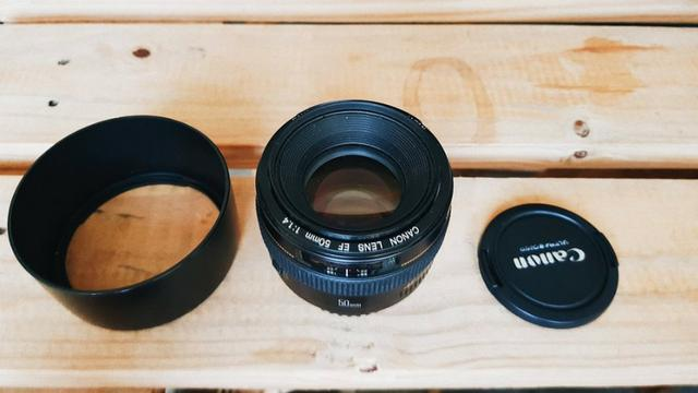 Lente Canon 50mm f1,4 USM