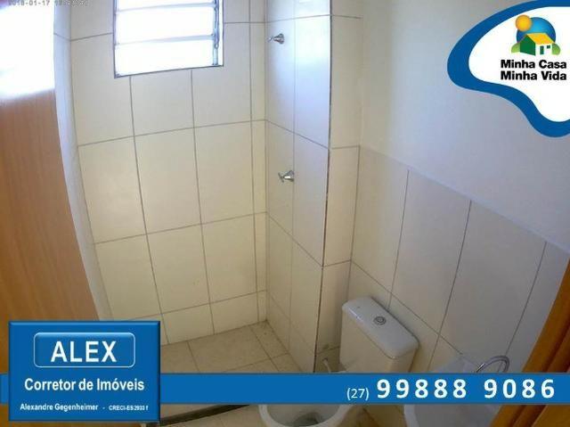 ALX - 45 - Apartamento com Subsídio de até R$ 23.200,00 e F.G.T.S como Entrada ? 2 Quartos - Foto 8