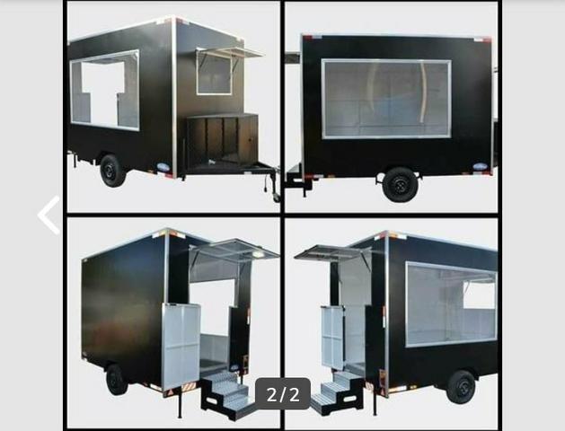 Carrinho gourmet fábrica trailers - Foto 6