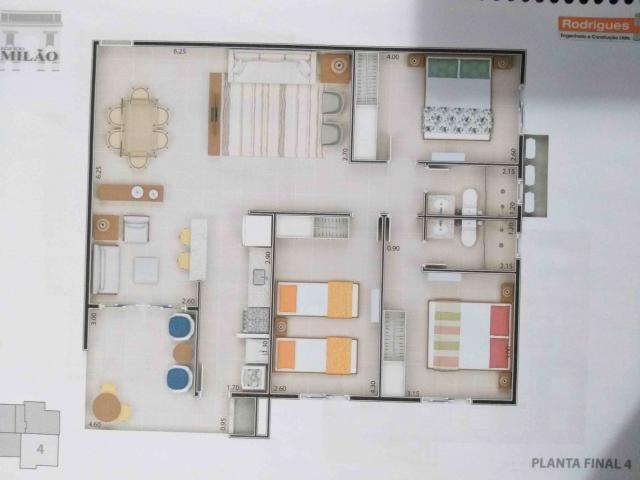 Apartamento à venda com 2 dormitórios em Itaguá, Ubatuba cod:9050 - Foto 6
