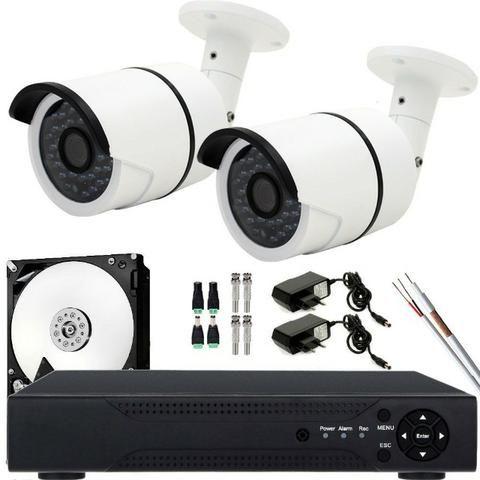 Kit 02 câmeras chamar no zap 98543-7900