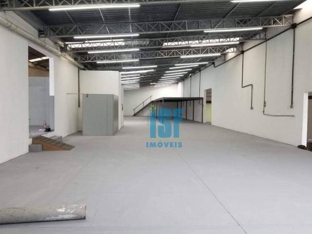 Galpão para alugar, 700 m² por r$ 11.000/mês - vila sílvia - são paulo/sp - ga0451.