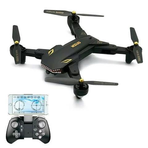 Drone Visuo XS809S com Wifi câmera 720p HD Black - Foto 2