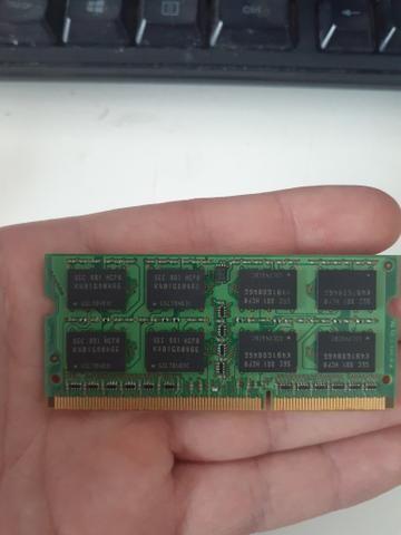 Memória ddr3 2 GB notebook - Foto 2