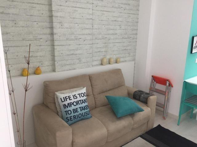 Stúdio mobiliado com garagem próximo do HC - Foto 5