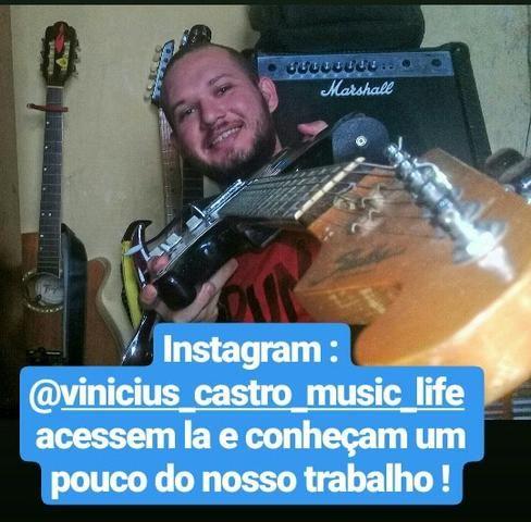 Aulas de Guitarra e Violão em SLZ - a domicilio - Foto 4