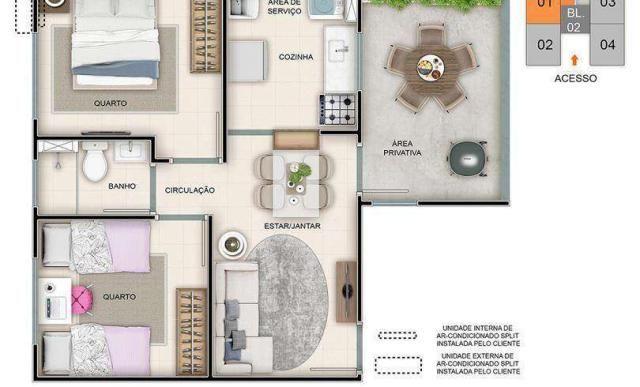 Reserva Real - Palácio de Versalhes - Apartamento 2 quartos em Ribeirão Preto, SP - ID3757 - Foto 8