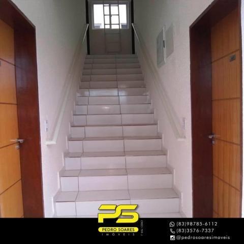 Apartamento com 2 dormitórios à venda, 60 m² por R$ 110.000 - Paratibe - João Pessoa/PB - Foto 12