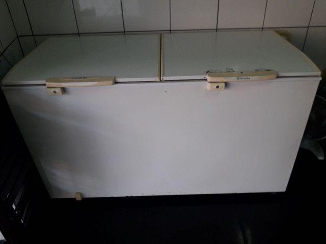 Freezer eletrolux 477L (defeito) - Foto 2
