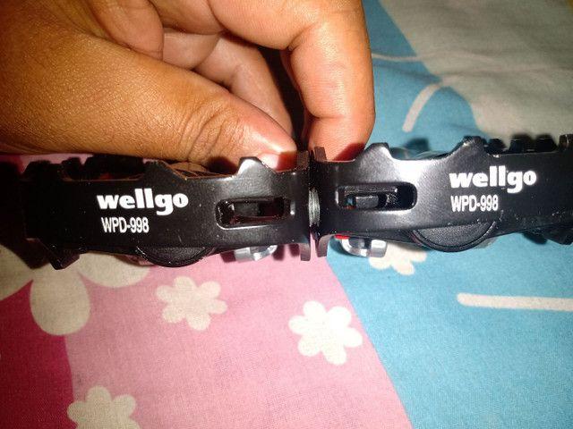 Par de pedal wellgo wpd-998 - Foto 3