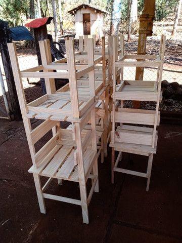 Mesas e banquinhos dobráveis  - Foto 4