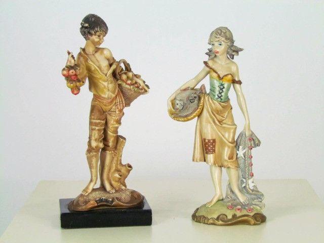 Estatueta resina figura feminina - Foto 3