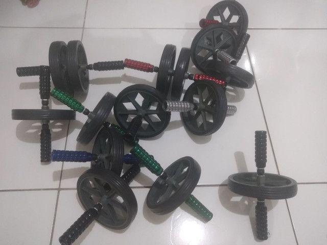Rodas e elastico extensores profissionais