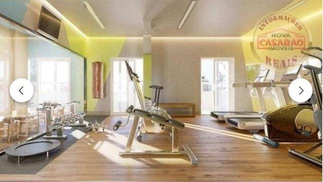 Apartamento com 2 dormitórios à venda, 70 m² por R$ 350.000 - Mirim - Praia Grande/SP - Foto 9