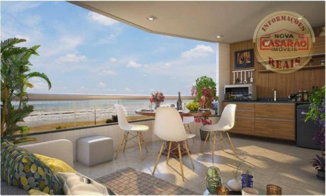 Apartamento com 2 dormitórios à venda, 77 m² por R$ 419.958 - Maracanã - Praia Grande - Foto 17