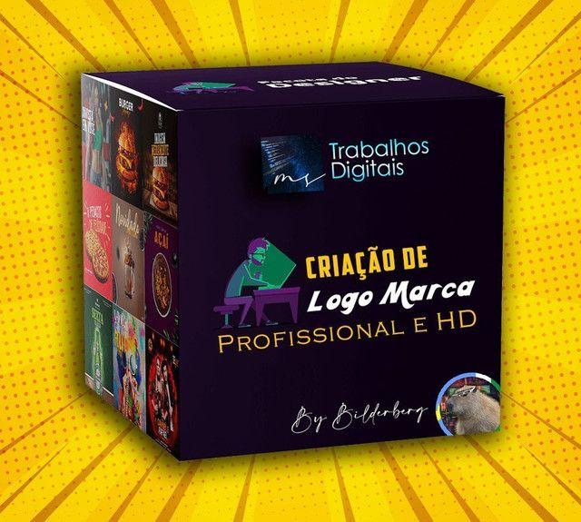 Faço sua Logo Profissional e HD - Foto 3