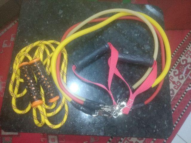 Rodas e elastico extensores profissionais - Foto 4