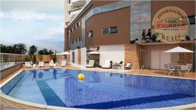 Apartamento com 2 dormitórios à venda, 77 m² por R$ 419.958 - Maracanã - Praia Grande - Foto 10