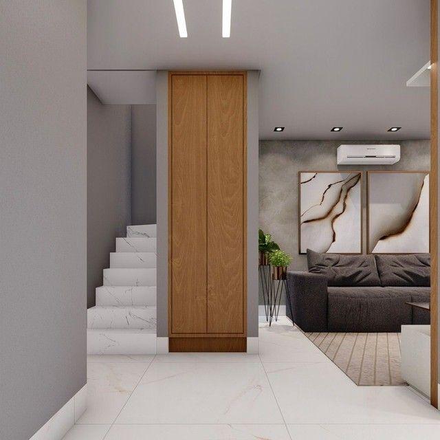 Lindo Sobrado com projeto arquitetônico em condomínio fechado Três Barras - Foto 14