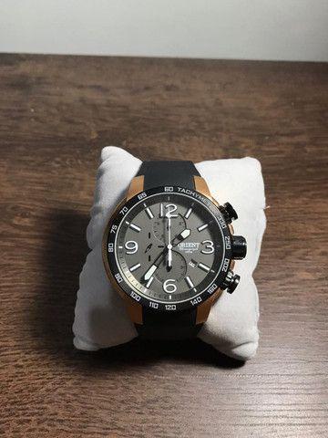 Relógio Orient Sport Preto - Foto 2