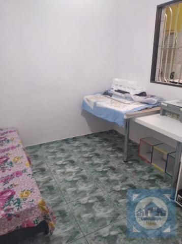 Casa com 3 dormitórios à venda, 100 m² por R$ 381.000,00 - Santa Maria - Santos/SP - Foto 4