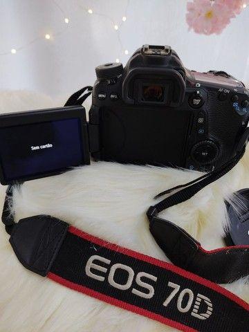 Camera fotográfica Canon 70D - Foto 5