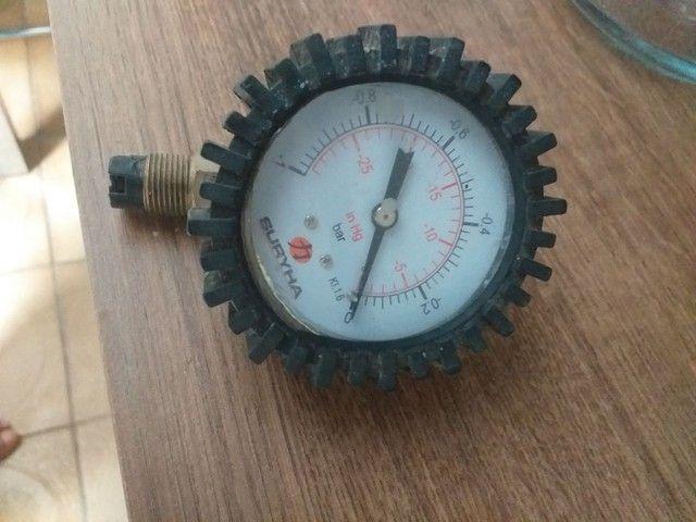 Relógio para bomba a vácuo