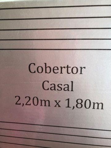 Cobertor Casal - NOVO - Foto 4