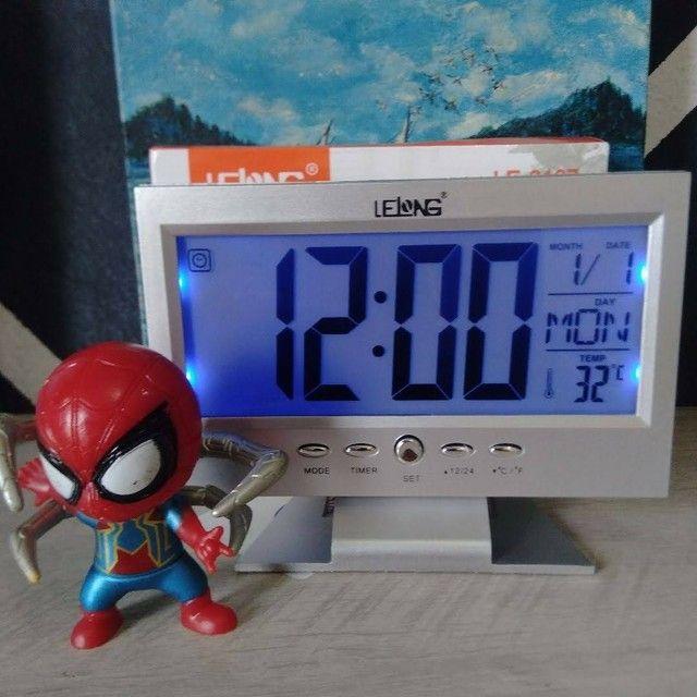 Relógio Digital de Mesa - Foto 6