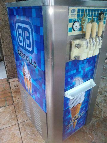 Máquina de sorvete bertollo - Foto 6