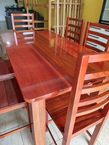 Mesa macacauba 6 cadeiras - Foto 4