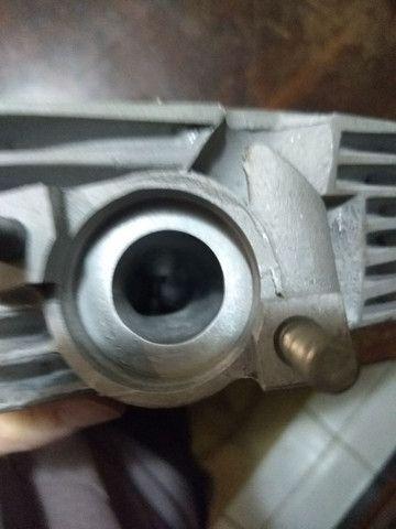 Cabeçote cg 150/bros 33x26 banca de fluxo - Foto 4