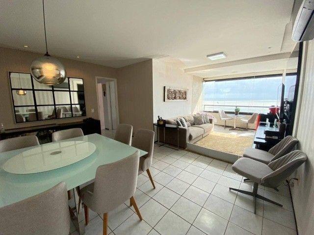 AB109 - Apartamento vista mar/03 quartos/ 03 vagas cobertas
