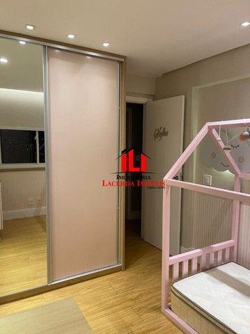 Mundi Resort, 96m², Mobiliado 100%, 14º andar, 3 quartos/suíte, 3 vagas - Foto 8
