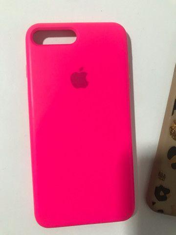 03 capas iPhone 7/8 plus  - Foto 3