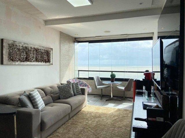 AB109 - Apartamento vista mar/03 quartos/ 03 vagas cobertas - Foto 2