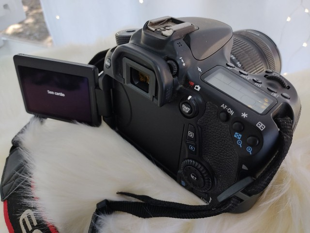 Camera fotográfica Canon 70D - Foto 4