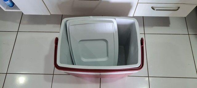 Caixa térmica / cooler 34l  - Foto 2
