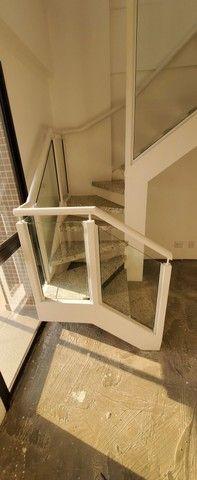 Escada em ferro e marmore - Foto 5