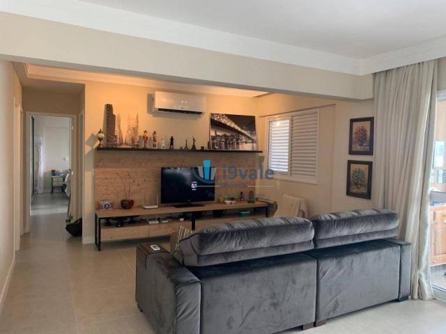 Apartamento com 3 dormitórios à venda, 122 m² por r$ 750.000 - jardim das indústrias - são