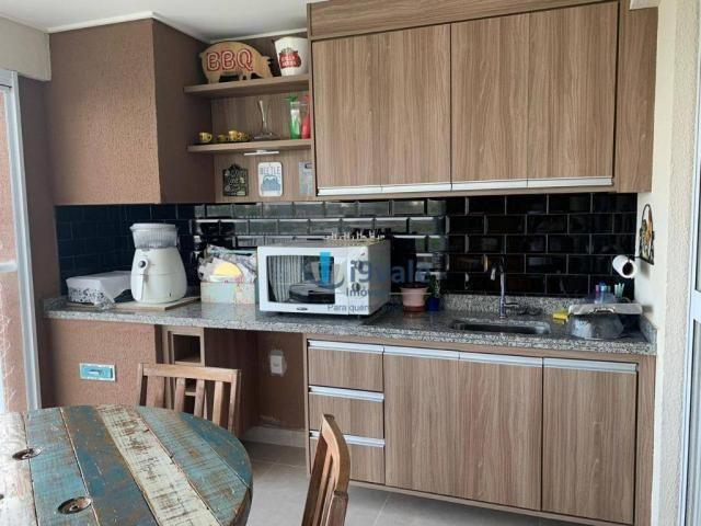 Apartamento com 3 dormitórios à venda, 122 m² por r$ 750.000 - jardim das indústrias - são - Foto 5