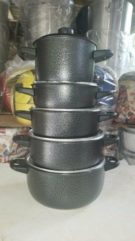Panelas de alumínio - Foto 3