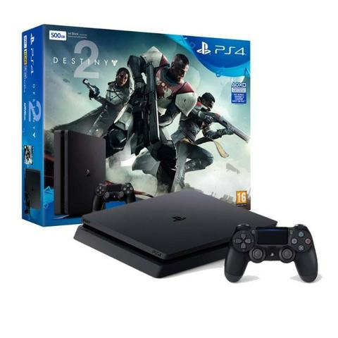 Playstation 4 HD de 500gb com 01 jogos em midia Fisica